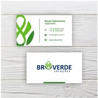 BR VERDE SOLUÇÕES LTDA, Logo e Identidade, Ambiental & Natureza