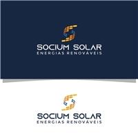 Socium Solar Energias Renováveis, Logo e Identidade, Construção & Engenharia