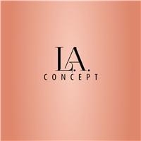 L.A. concept/ loja de roupas femininas varejo, Logo e Identidade, Roupas, Jóias & acessórios