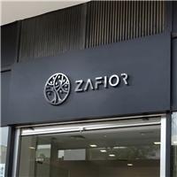 Zafior, Logo e Identidade, Ótica