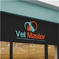 VET MASTER, Logo e Identidade, Pets