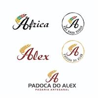 Padoca do Alex, Logo e Identidade, Alimentos & Bebidas