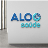 ALOO SAÚDE    ( principal: aloo , subtitulo: saude) , Logo e Identidade, Saúde & Nutrição