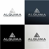 Alquima Distribuidora de Perfis de ALuminio, Logo e Identidade, Outros