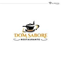 RESTAURANTE DOM SABORE , Logo e Identidade, Alimentos & Bebidas