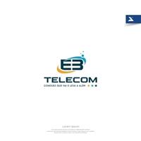 E3 Telecom , Logo e Identidade, Tecnologia & Ciencias