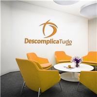 DescomplicaTudo.com, Logo e Identidade, Tecnologia & Ciencias