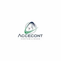 Accecont , Logo e Identidade, Contabilidade & Finanças