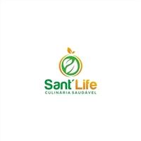 Sant'Life, Logo e Identidade, Alimentos & Bebidas