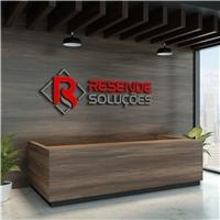 Resende Soluções, Logo e Identidade, Consultoria de Negócios