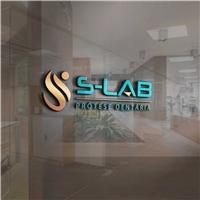 SLAB OU S-LAB, Logo e Identidade, Odonto
