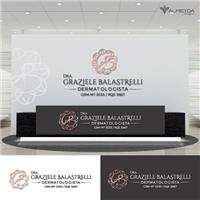 Dra. Graziele Balastrelli      Dermatologista    CRM 5535 / RQE 5667, Logo e Identidade, Outros