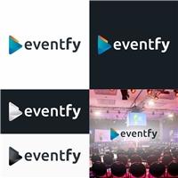 eventfy, Logo e Identidade, Tecnologia & Ciencias