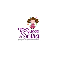 O Mundo de Sofia (Soluções em ambientes infantis), Logo e Identidade, Crianças & Infantil