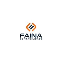 Faina Contabilidade LTDA, Logo e Identidade, Contabilidade & Finanças