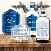 LE SEPT Gin, Embalagens de produtos, Alimentos & Bebidas