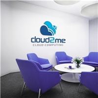 cloud2me, Logo e Identidade, Tecnologia & Ciencias