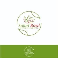 SALAD BOWL, Logo e Identidade, Alimentos & Bebidas