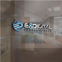 E & DIGITAL CONTABILIDADE , Logo e Identidade, Contabilidade & Finanças