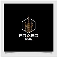 FRAED SUL, Logo e Identidade, Construção & Engenharia