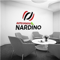Auto Posto Nardino, Logo e Identidade, Automotivo