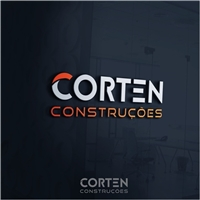 Corten Construções, Logo e Identidade, Construção & Engenharia