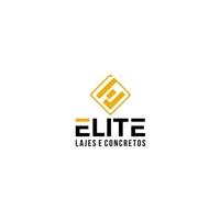 ELITE LAJES E CONCRETOS, Logo e Identidade, Construção & Engenharia