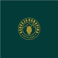 Cerveja Carapina (Com referencias), Logo e Identidade, Alimentos & Bebidas