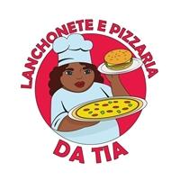 Lanchonete e Pizzaria da Tia, Logo e Identidade, Alimentos & Bebidas