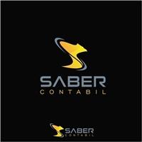 SABER CONTABIL, Logo e Identidade, Contabilidade & Finanças