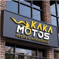 Kaká Motos Peças e Acessórios, Logo e Identidade, Automotivo