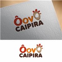 O Ovo Caipira, Logo e Identidade, Alimentos & Bebidas