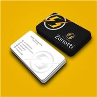 Elétrica Zanotti, Logo e Identidade, Construção & Engenharia