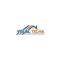 Visual Telha - Casa & Construção, Logo e Identidade, Construção & Engenharia