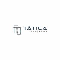 TÁTICA PROJETOS, Logo e Identidade, Construção & Engenharia