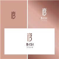 BISI Store, Logo e Identidade, Roupas, Jóias & acessórios