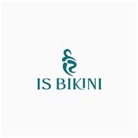 IS BIKINI, Logo e Identidade, Roupas, Jóias & acessórios