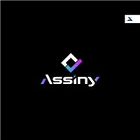 Assiny, Logo e Identidade, Computador & Internet