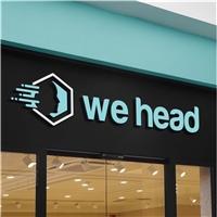WE HEAD, Logo e Identidade, Educação & Cursos
