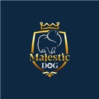 Majestic Dog, Logo e Identidade, Pets