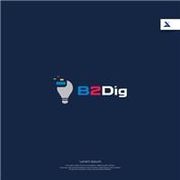 B2Dig, Logo e Identidade, Consultoria de Negócios