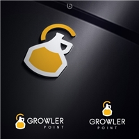 Growler Point, Logo e Identidade, Alimentos & Bebidas