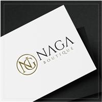 Naga Boutique, Logo e Identidade, Roupas, Jóias & acessórios