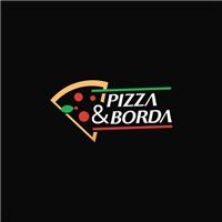 PIZZA & BORDA, Logo e Identidade, Alimentos & Bebidas