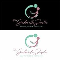 Dra Gabriela Justa, Logo e Identidade, Saúde & Nutrição