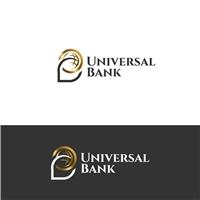 Universal Bank, Logo e Identidade, Contabilidade & Finanças