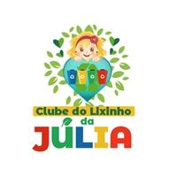 A empresa é um projeto social, da minha filha de 7 anos!  É o clube do Lixinho da Júlia  , Logo e Identidade, Ambiental & Natureza