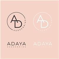 Adaya Acessórios , Logo e Identidade, Roupas, Jóias & acessórios