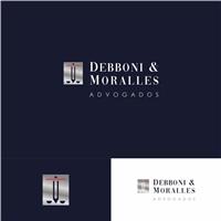 DEBBONI & MORALLES ADVOGADOS, Logo e Identidade, Advocacia e Direito