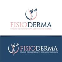 Fisioderma Studio de Fisioterapia Dermatofuncional, Logo e Identidade, Saúde & Nutrição